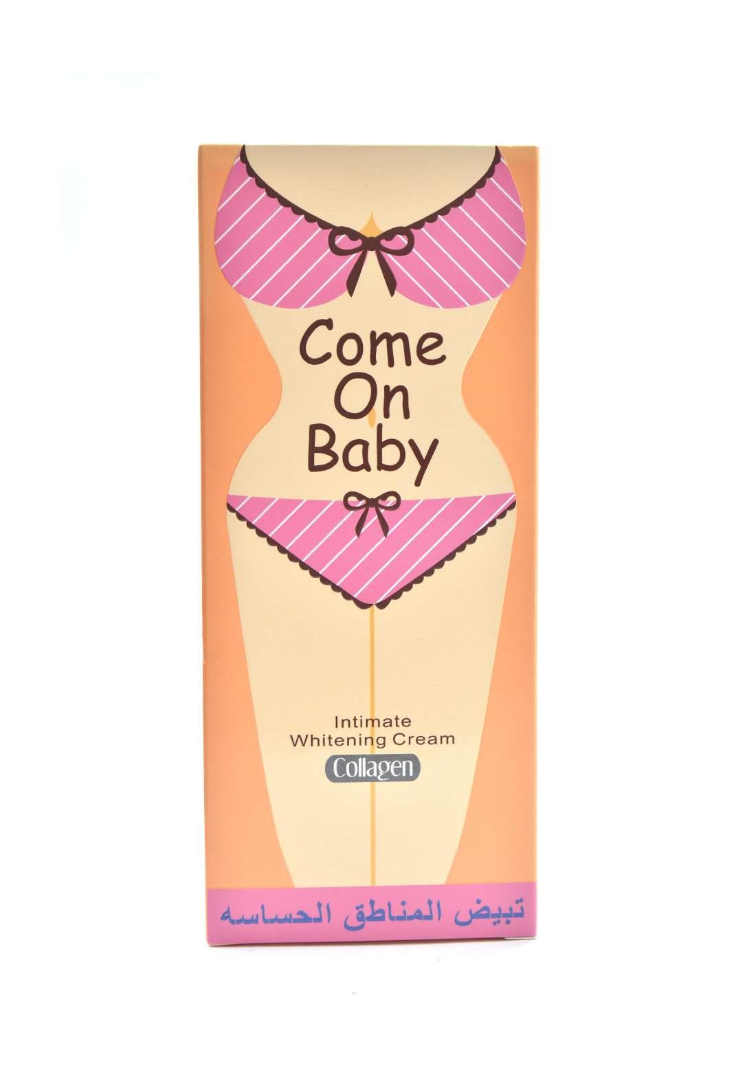 Come On Bady Intimate Whitening Cream 220ml مبيض مناطق حساسة