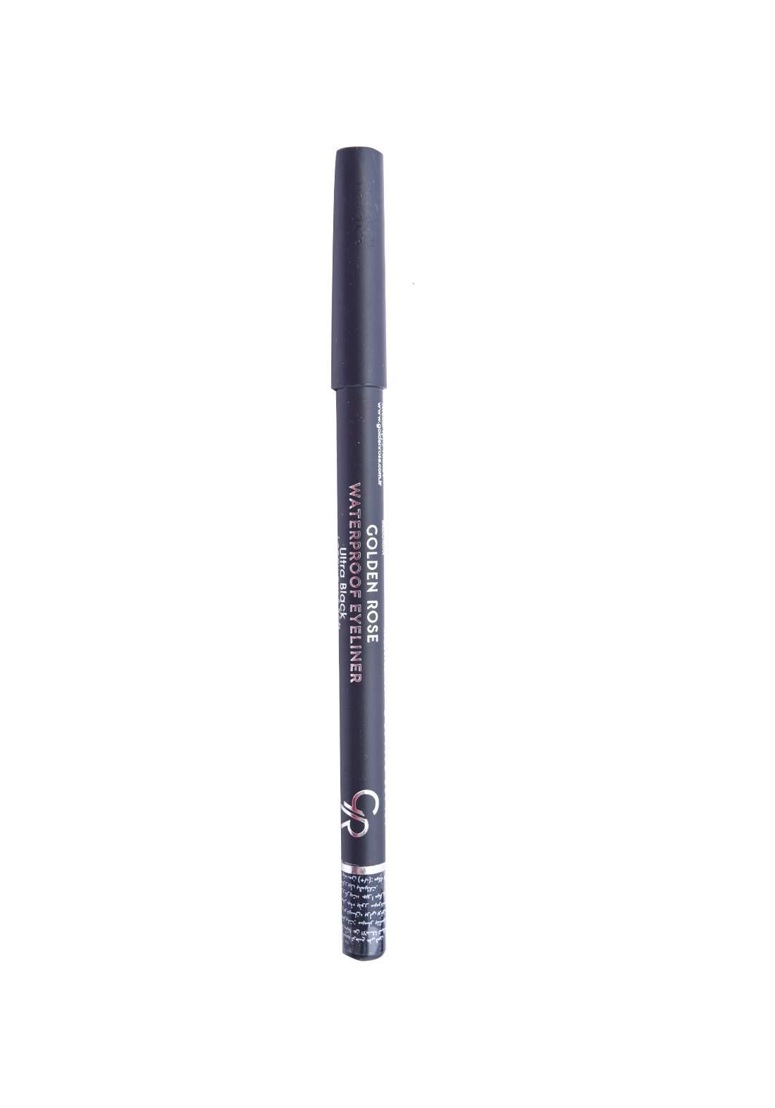Golden Rose Waterproof Eyeliner Ultra Black  محدد العيون