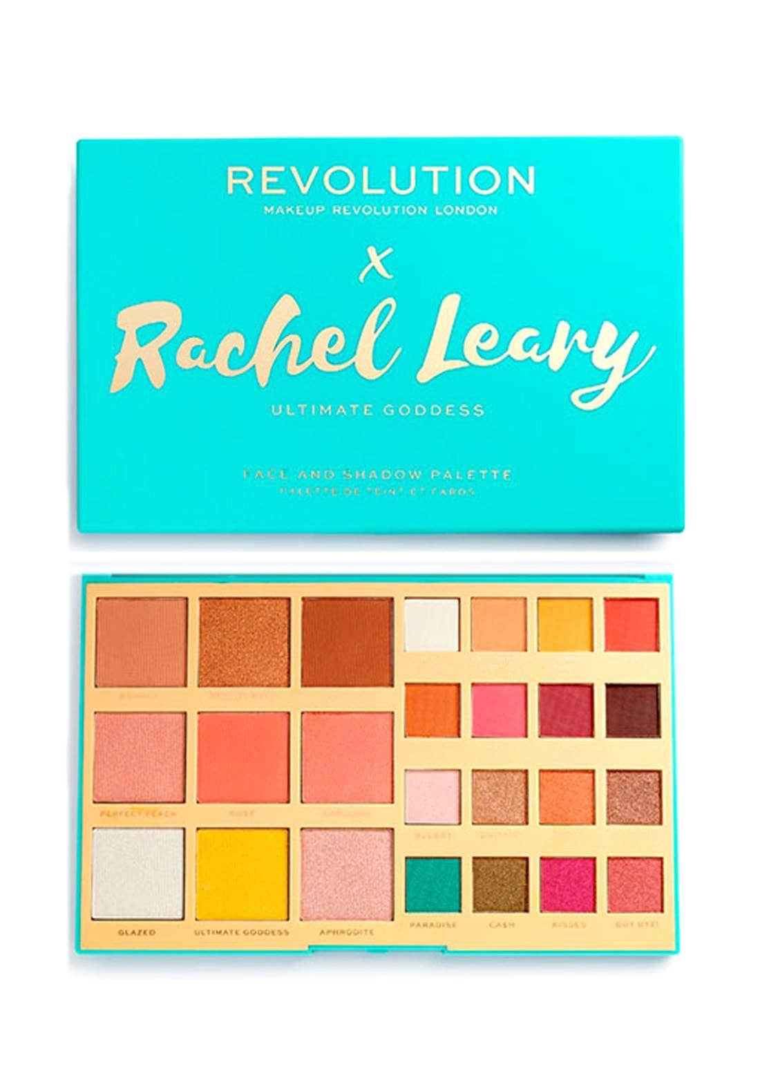 Revolution Rachel Leary X Eyeshadow Palette - Ultimate Goddess 0.8 G باليت
