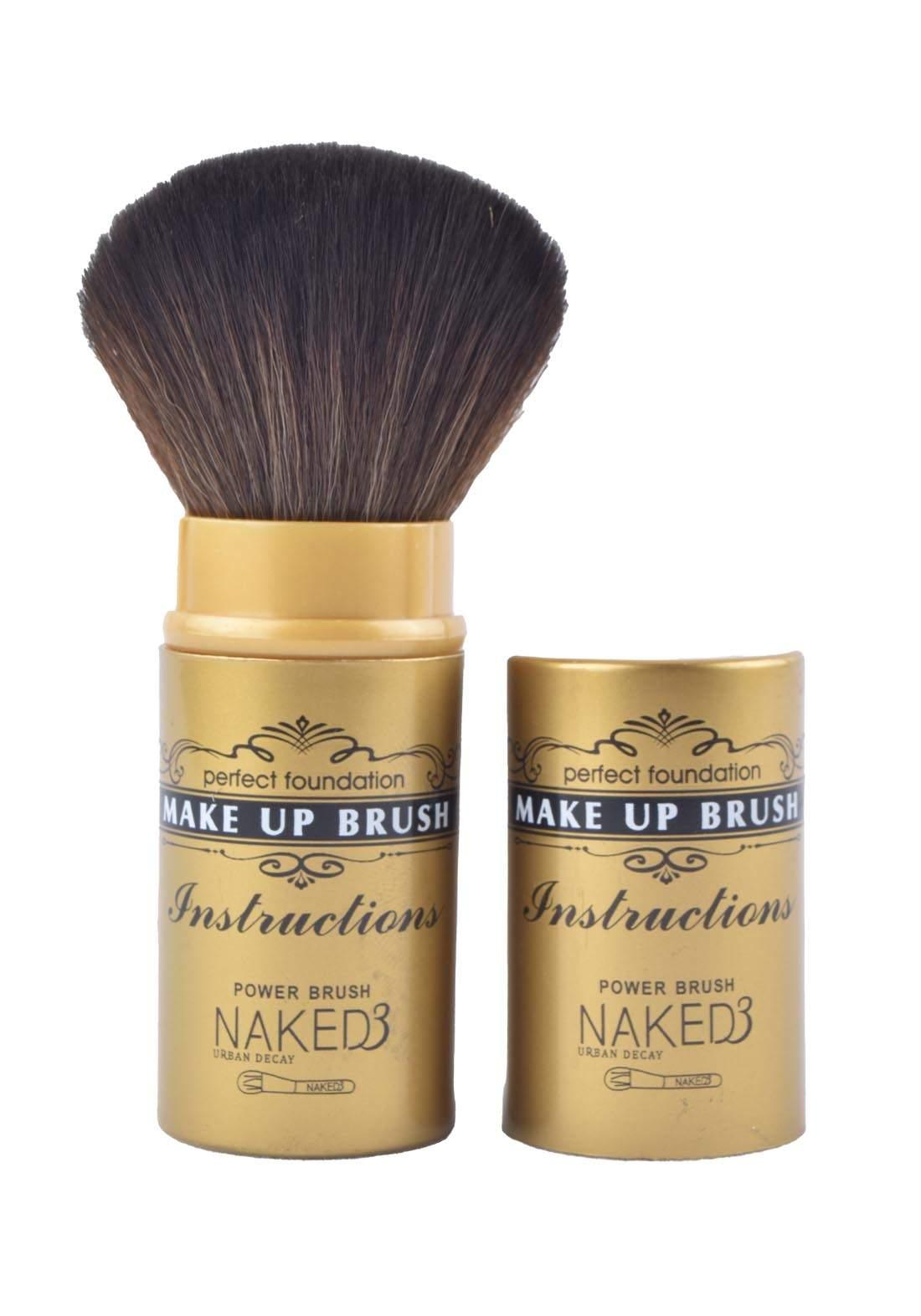 Naked3 Instructions Make Up Brush فرشاة