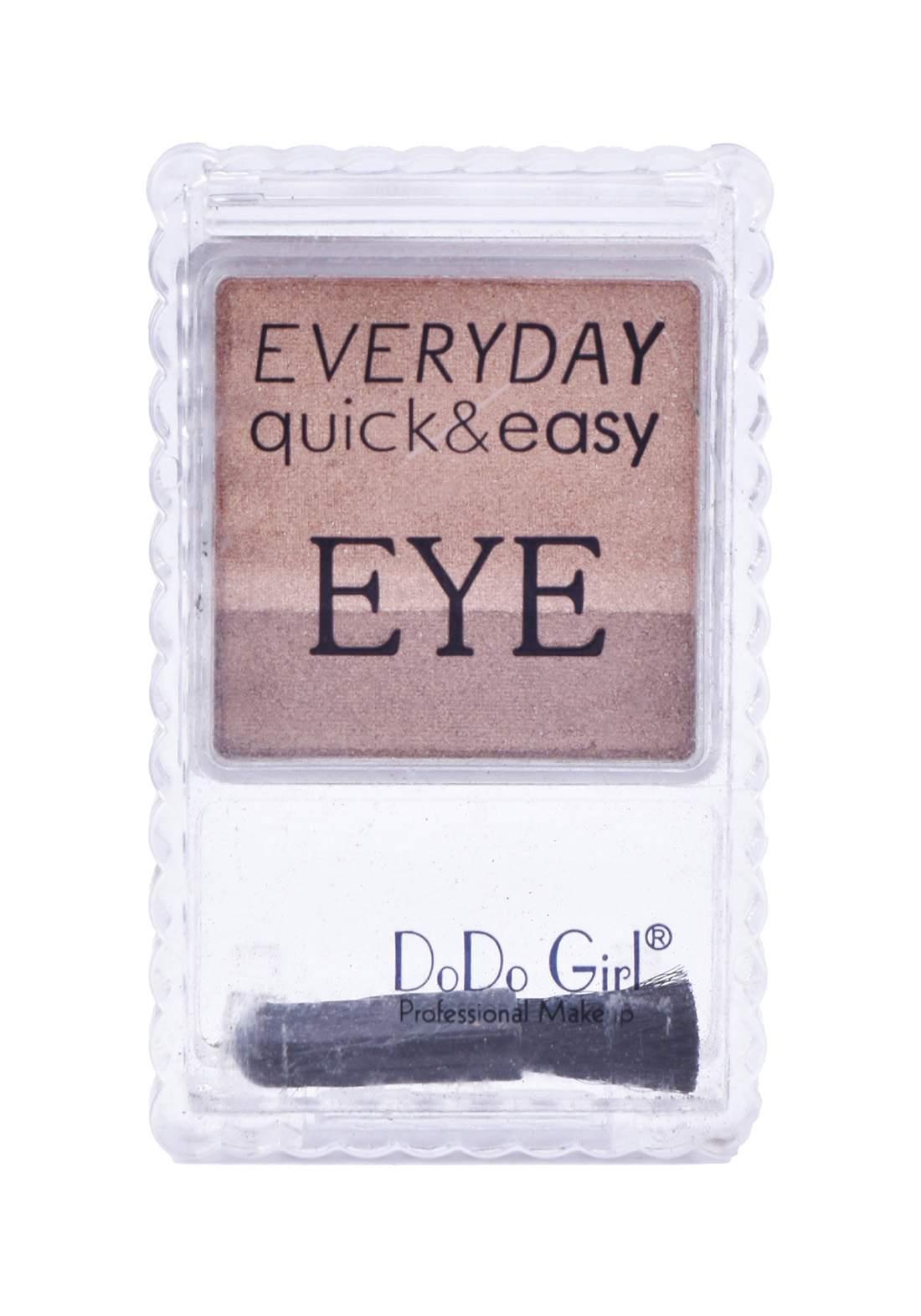 Dodo Girl Every Day Quick & Easy Eye Shadow No.1 ظلال للعين