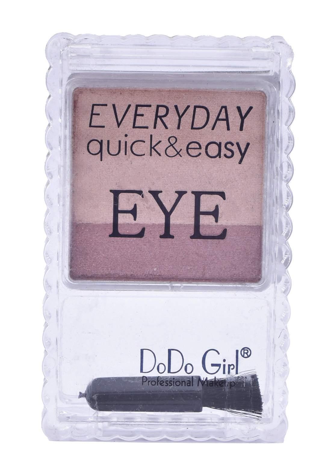 Dodo Girl Every Day Quick & Easy Eye Shadow No.3 ظلال للعين