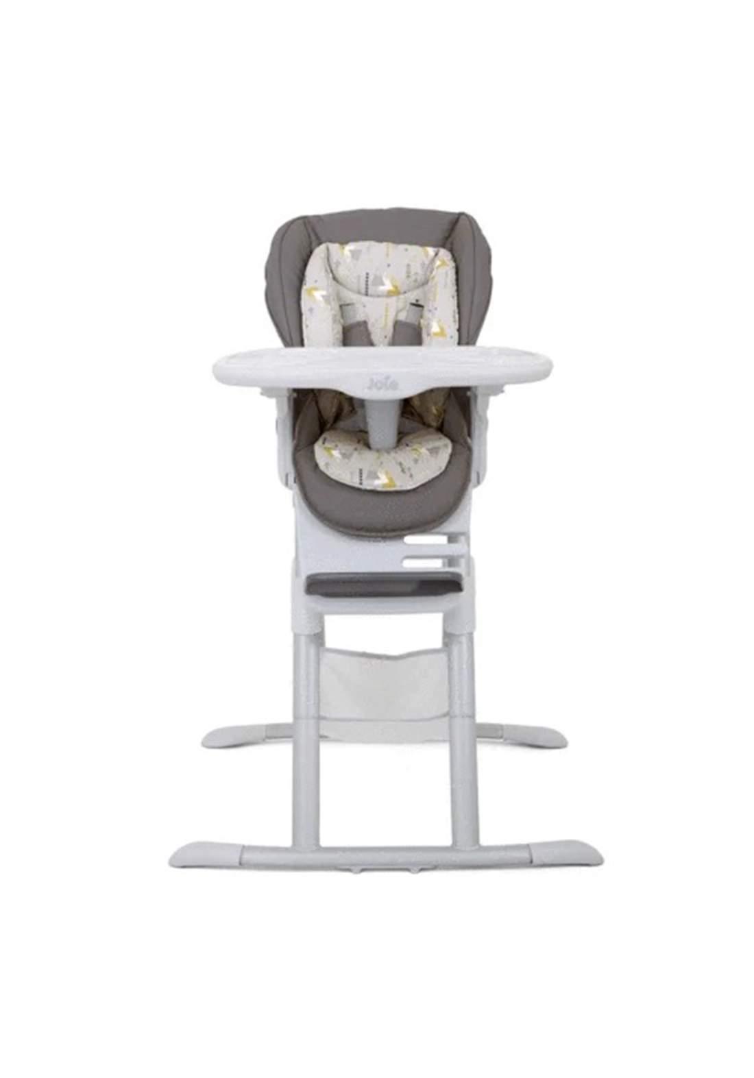 كرسي طعام للاطفال Joie Baby H1124ACGEM000 Mimzy Spin 3-in-1 Highchair Geometric Mountains