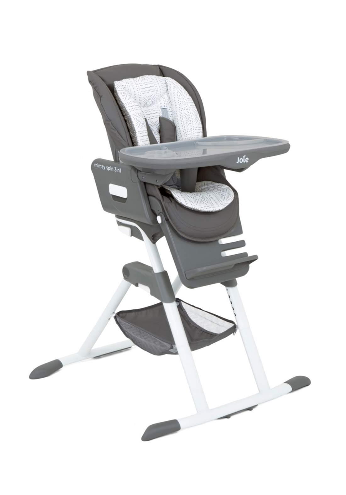 كرسي طعام للاطفال Joie Baby H1124ACTLE000 Chaise haute Mimzy Spin 3 en 1 Tile