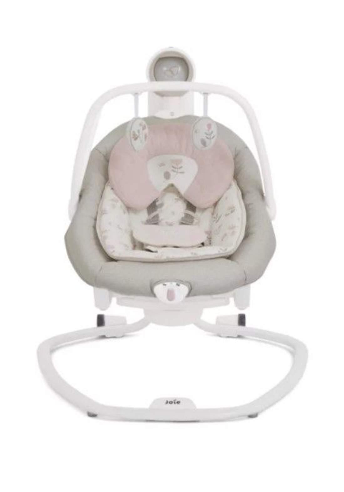كرسي هزاز للاطفال لحديثي الولادةJoie Baby W1306ADFLF000 Serina 2-in-1 Swing - Forever Flowers