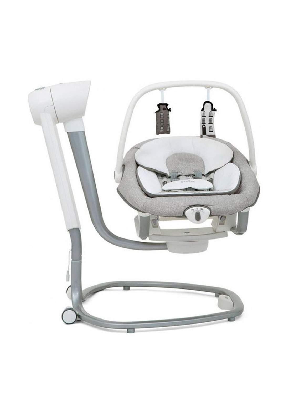 """كرسي هزاز للاطفال لحديثي الولادةJoie Baby W1306ABPTC000 Serina 2in1 """"Petite City"""" Baby-Schaukel-Wippe"""