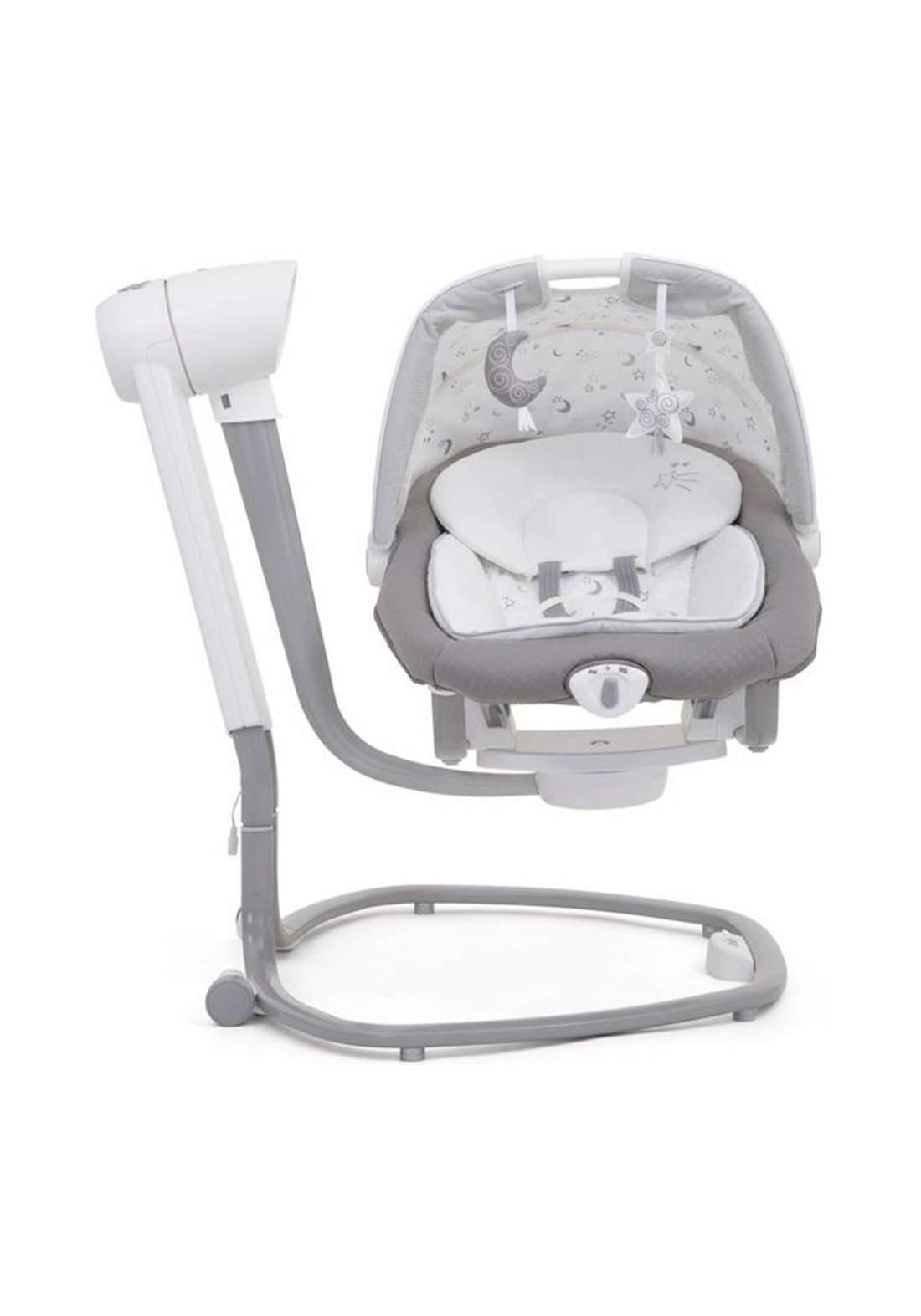 كرسي هزاز للاطفال لحديثي الولادةJoie Baby W1306AESTY000 Serina 2 in 1 Swing Starry Nights