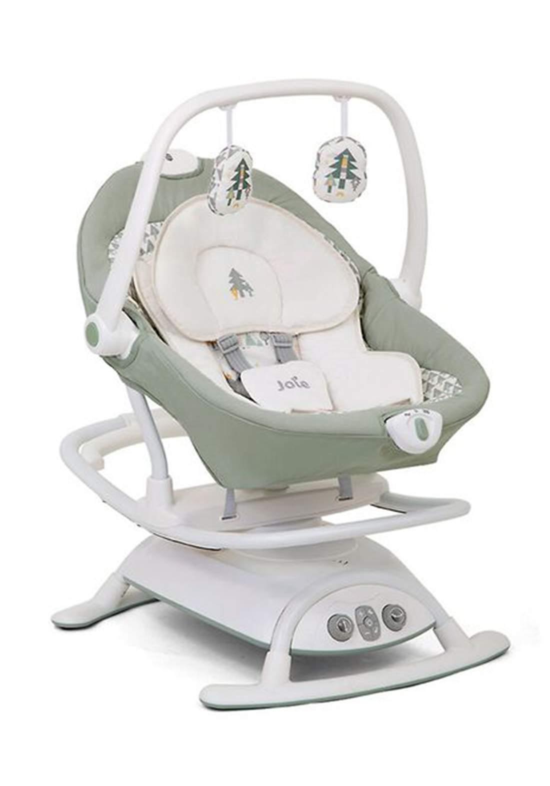 كرسي هزاز للاطفال لحديثي الولادةJoie Baby W1604AAWLD000 Swivel Seats
