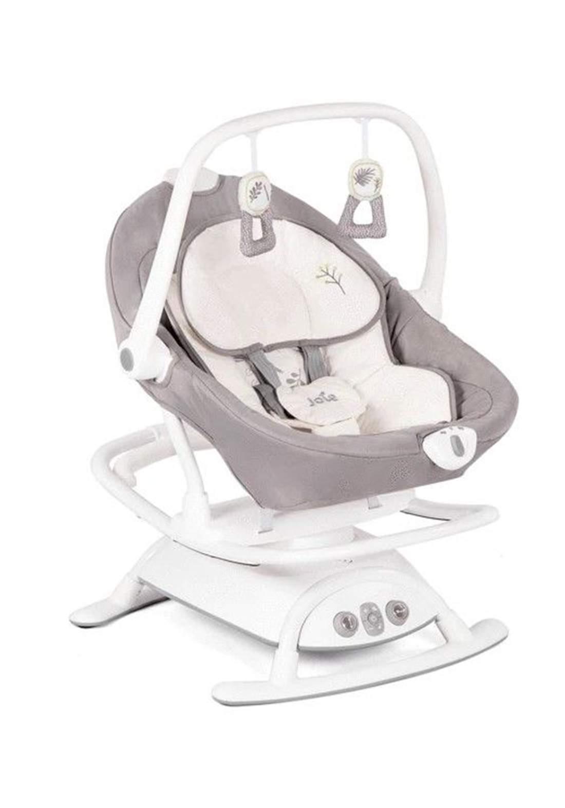 كرسي هزاز للاطفال لحديثي الولادةJoie Baby W1604AAFRN000 Sansa 2in1 Rocker / Soother - Fern