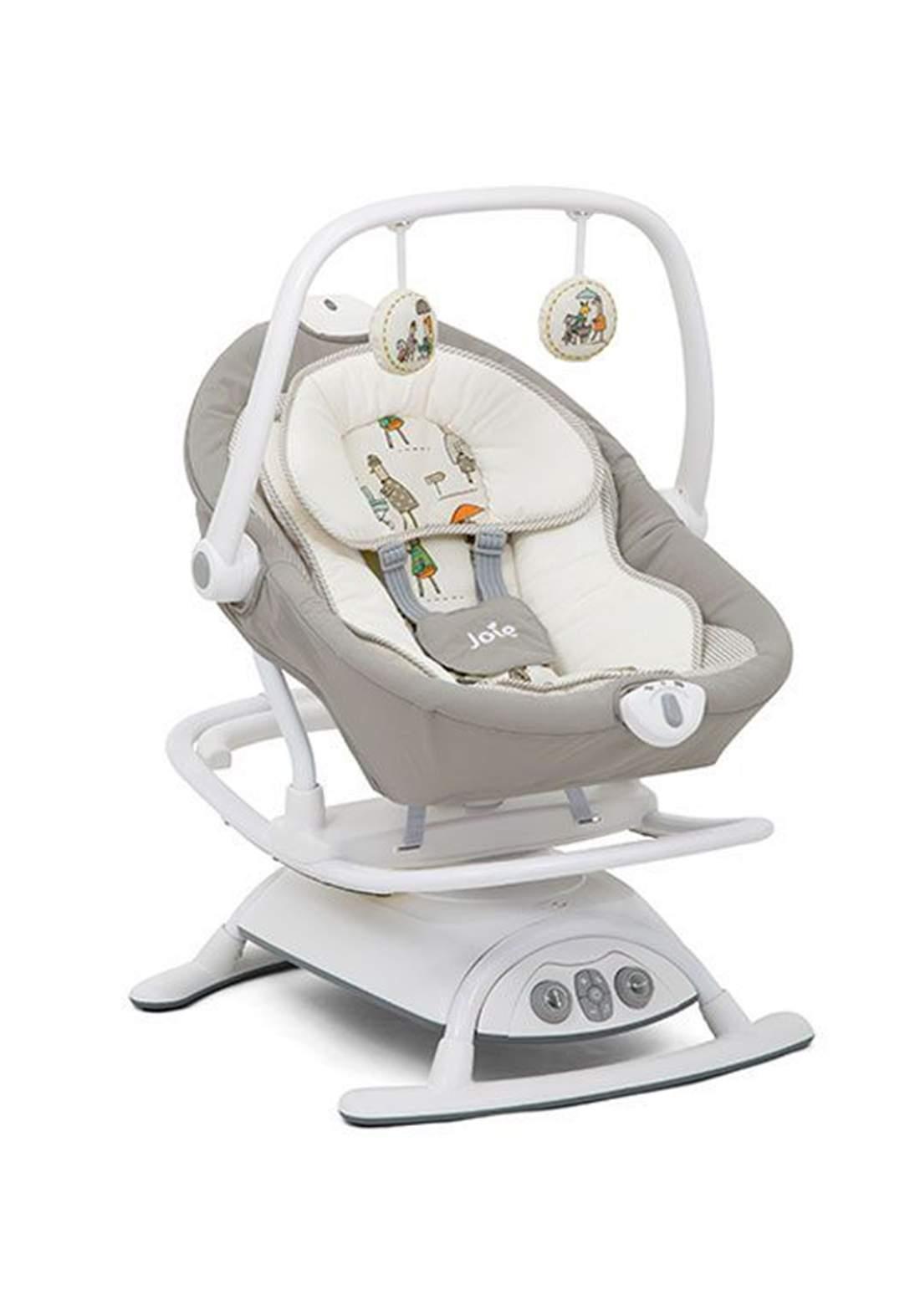 كرسي هزاز للاطفال لحديثي الولادةJoie Baby W1604AAITR000 Sansa Swing In the Rain