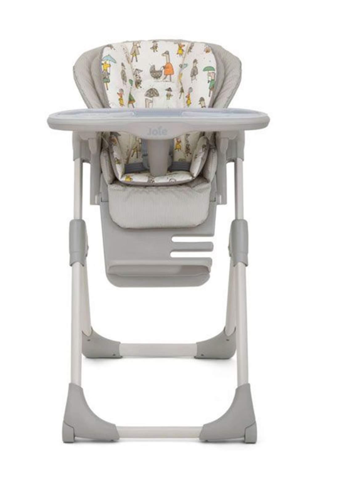 كرسي طعام للاطفالJoie Baby H1013CAITR000 Mimzy LX Highchair In the Rain