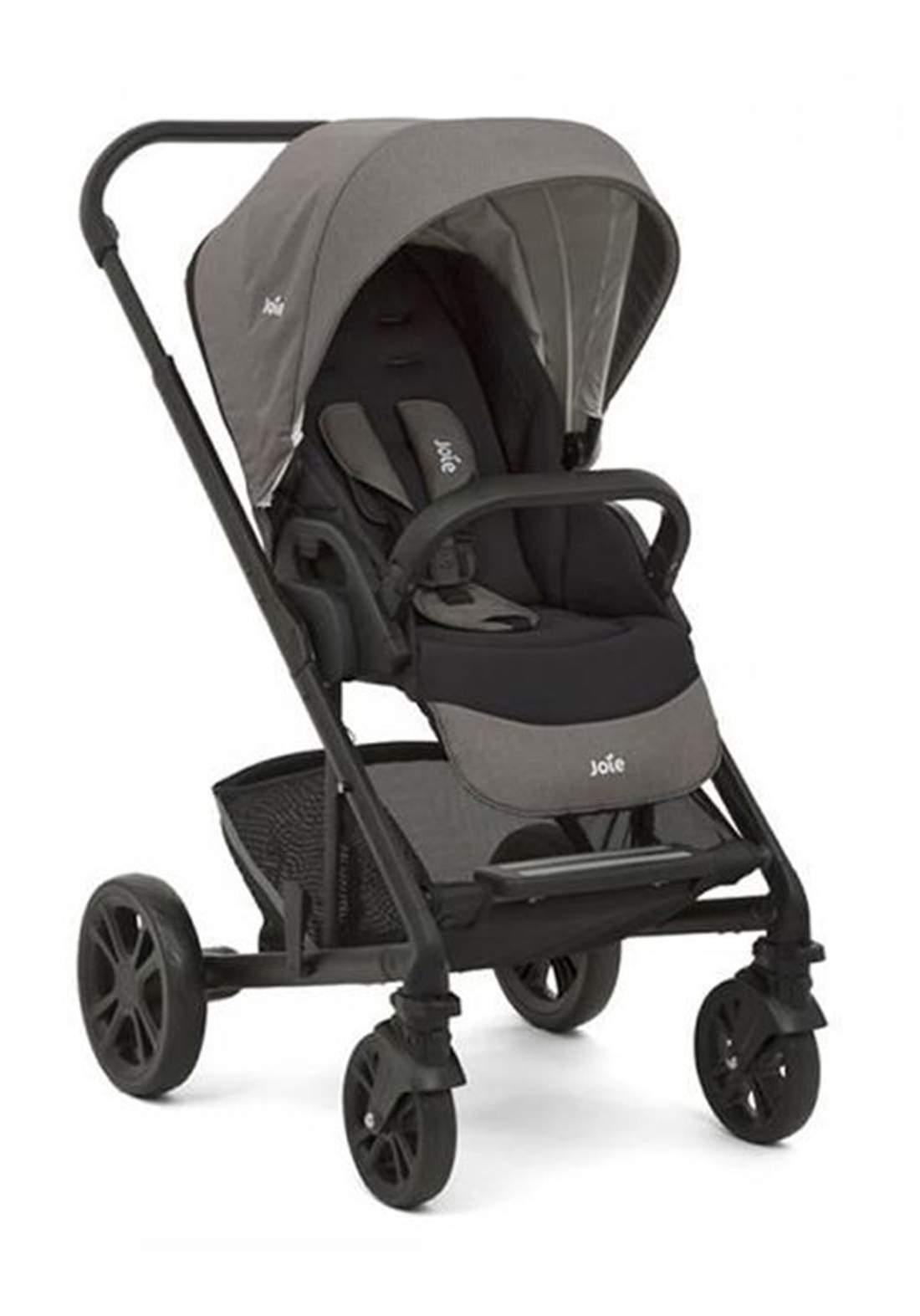 عربة اطفال 11.8 كغم Joie Baby S1201IBFGY000 Chrome Pushchair 4 Wheel Pushchair Stroller - Grey