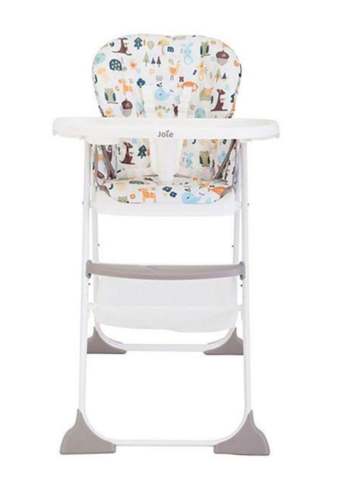 كرسي طعام للاطفال Joie Baby H1127AAABC000 Mimzy Snacker High Chair Alphabet