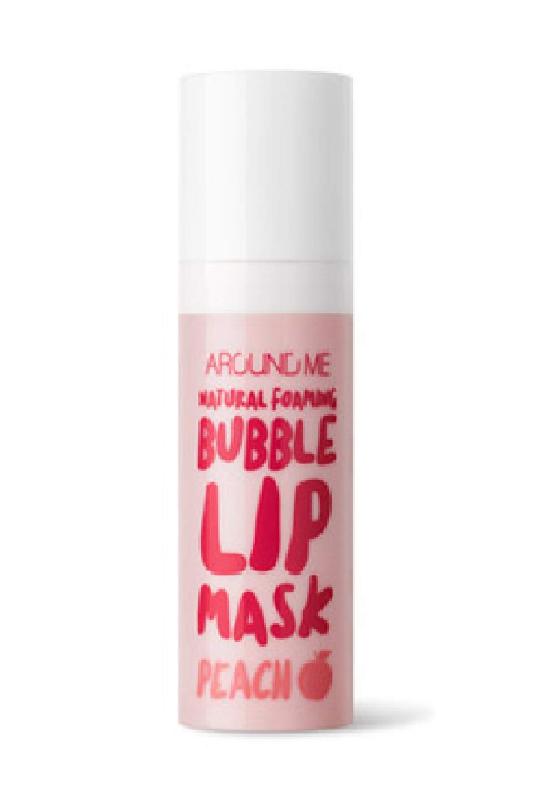 Around Me Natural Foaming Bubble Lip Mask مورد ومقشر للشفاه
