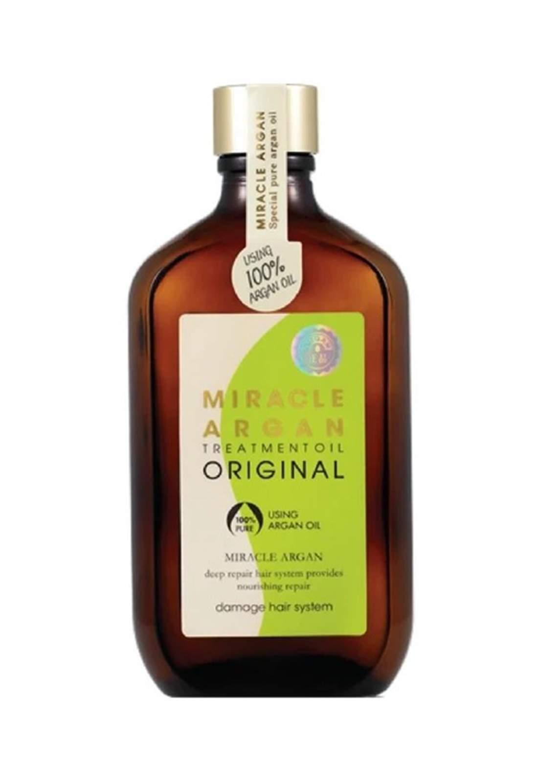 Miracle Argan Treatment Oil Orginal 100 ml زيت للشعر