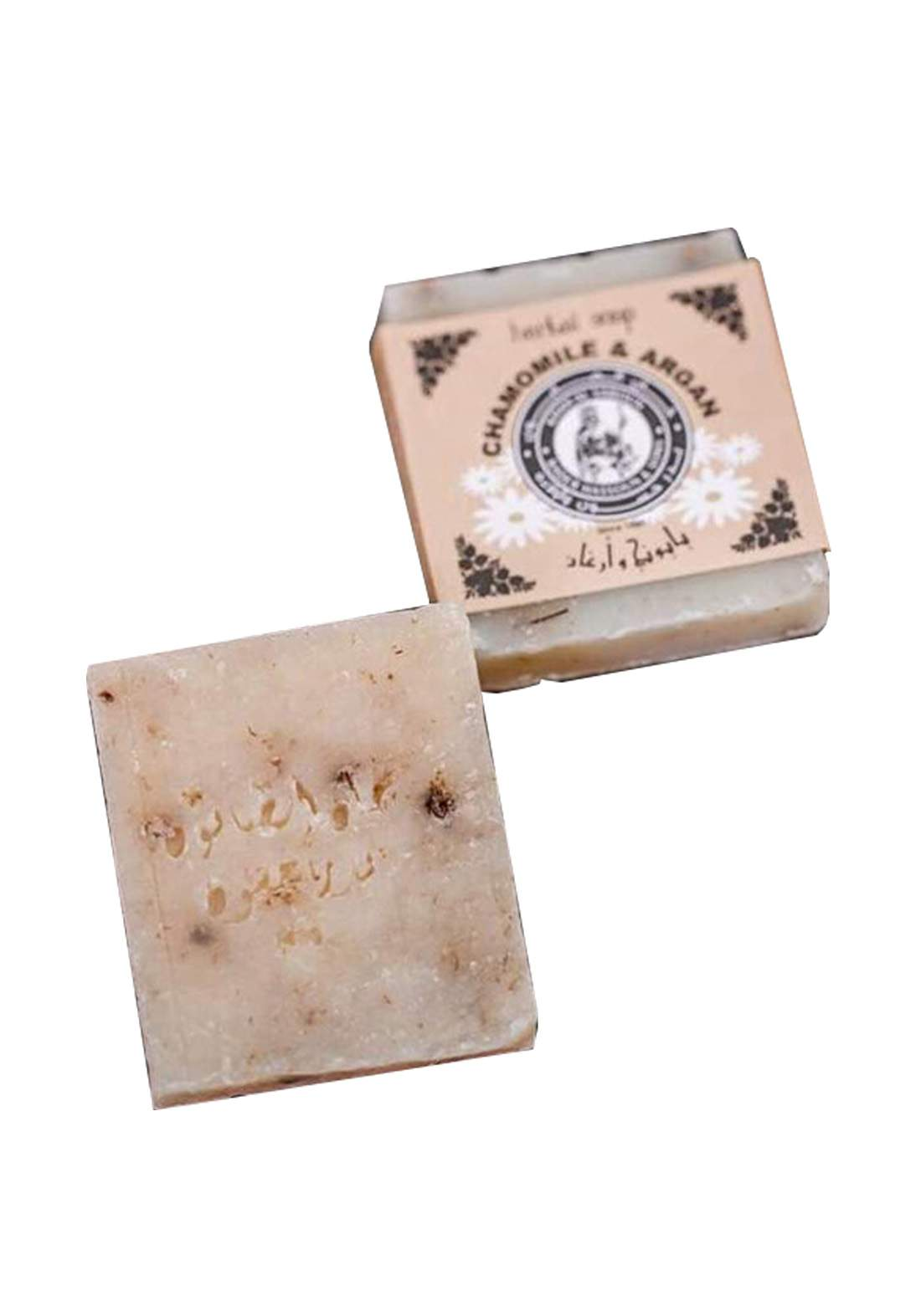 Khan Alsaboun Herbal Soap 80 g صابون زهرة البابونج العشبي
