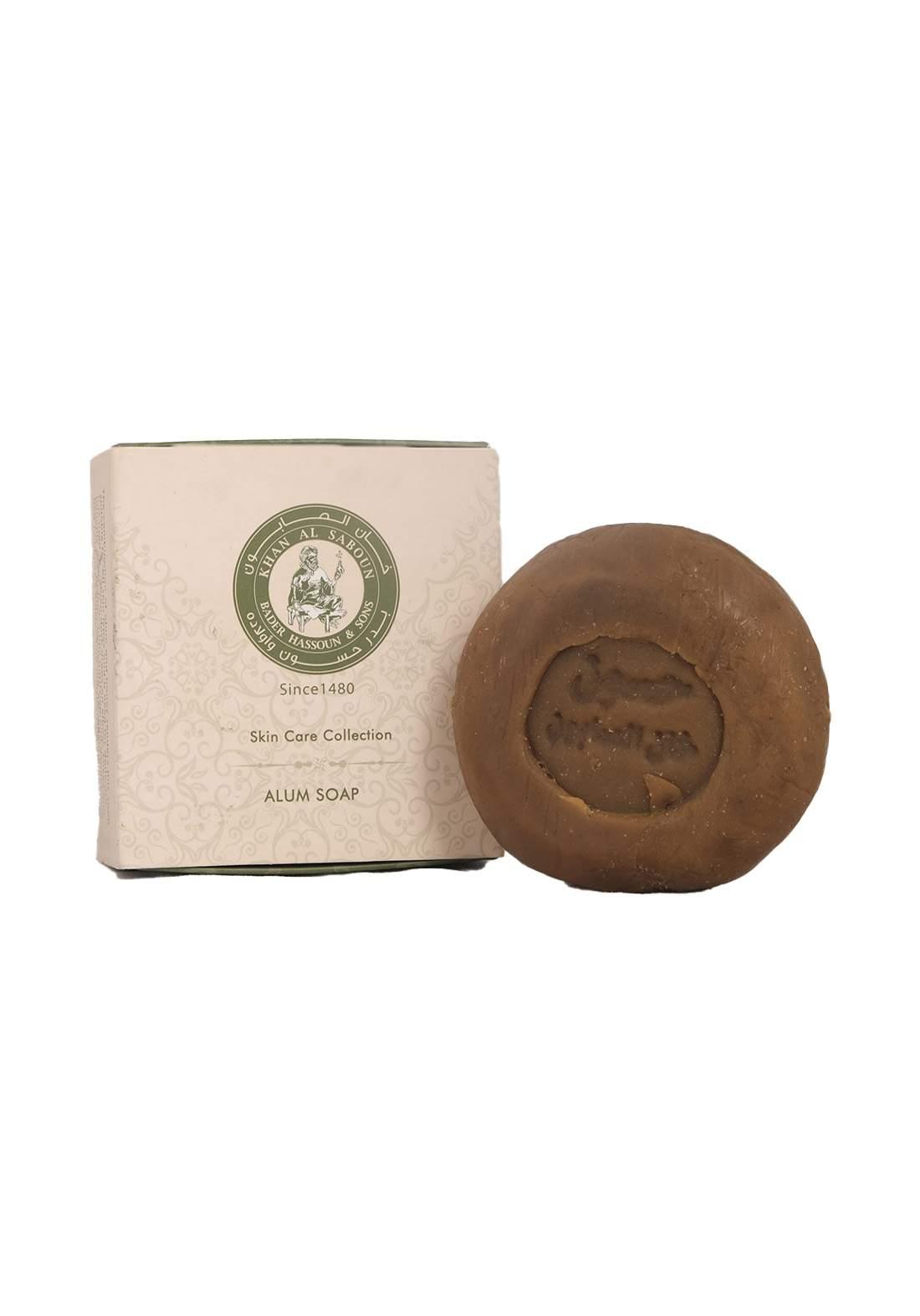 Khan Alsaboun Alum Soap 100 g صابون عسل شبة