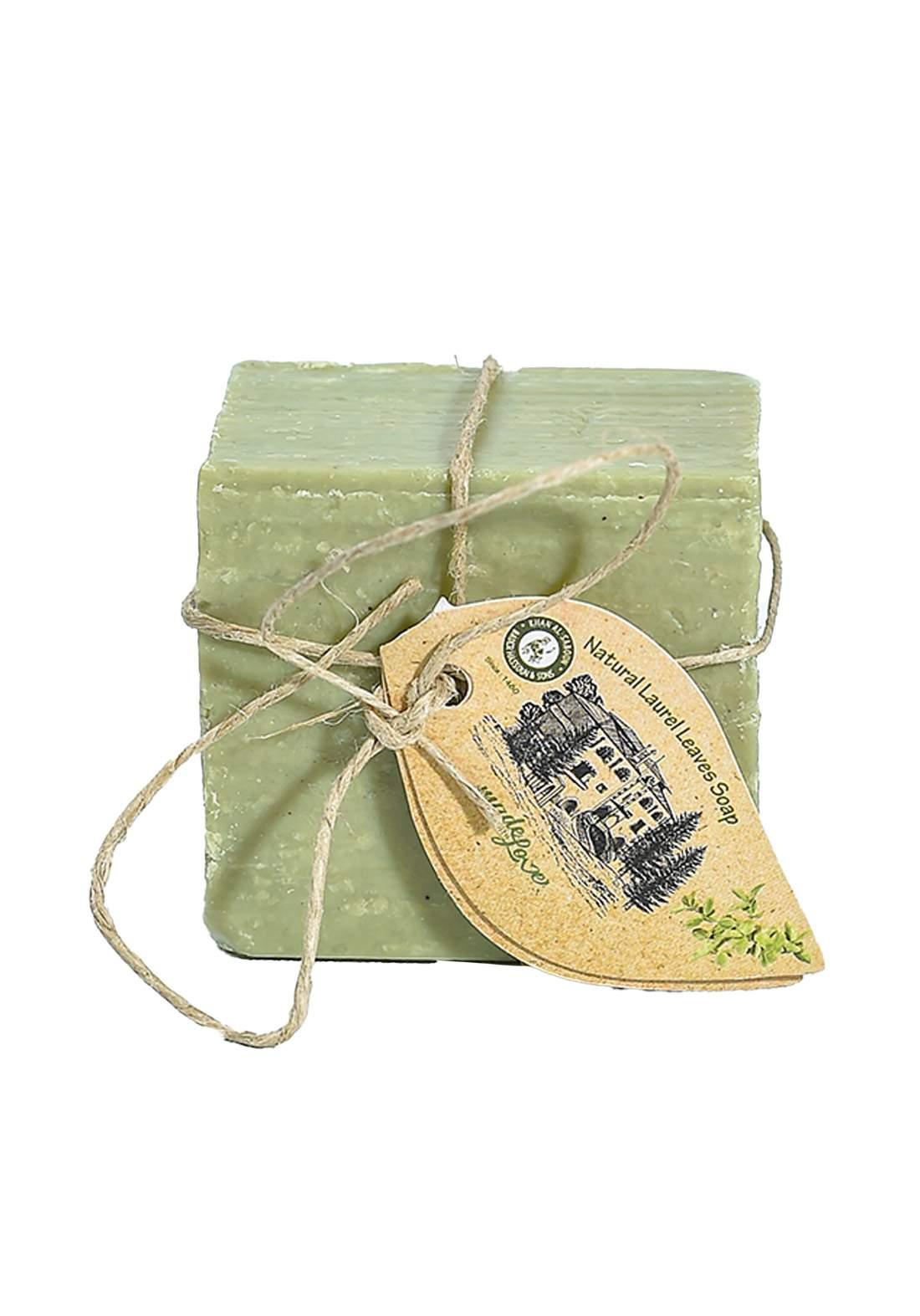 Khan Alsaboun Natural Laurel Leaves Soap 140 g صابون غار