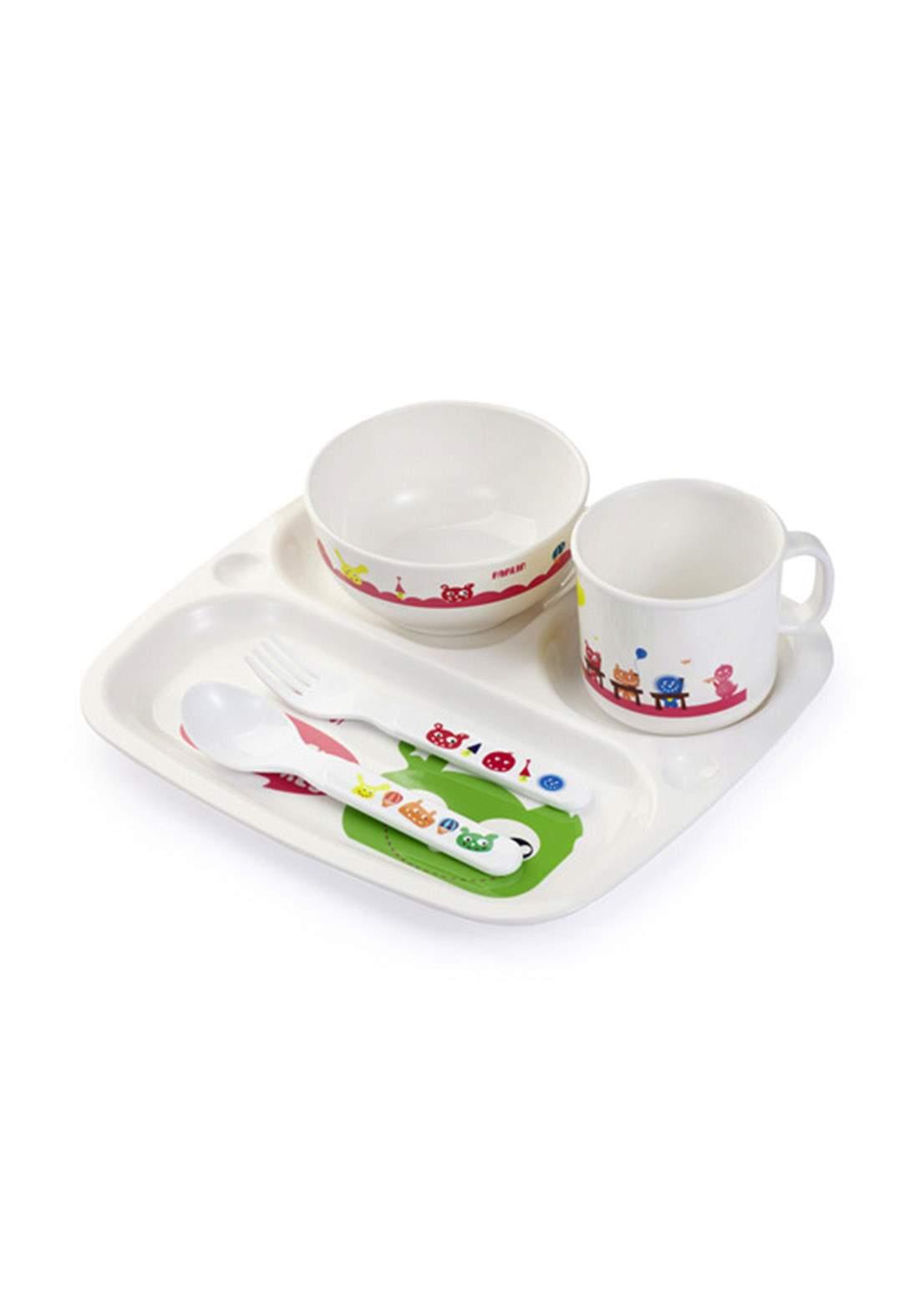 Farlin Baby Tableware Set طقم وجبات الغذاء للاطفال
