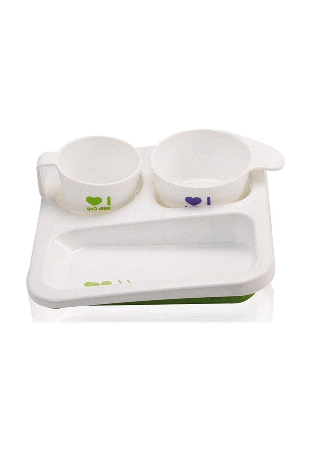 Farlin Baby A dish of serving food طقم وجبات الغذاء للاطفال