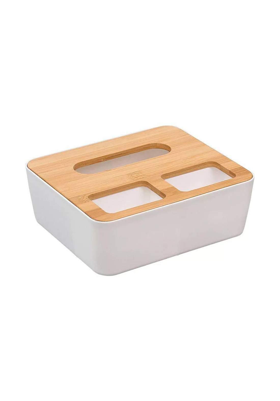 Aokyom Wooden Tissue Holder حامل مناديل متعدد الأستخدام