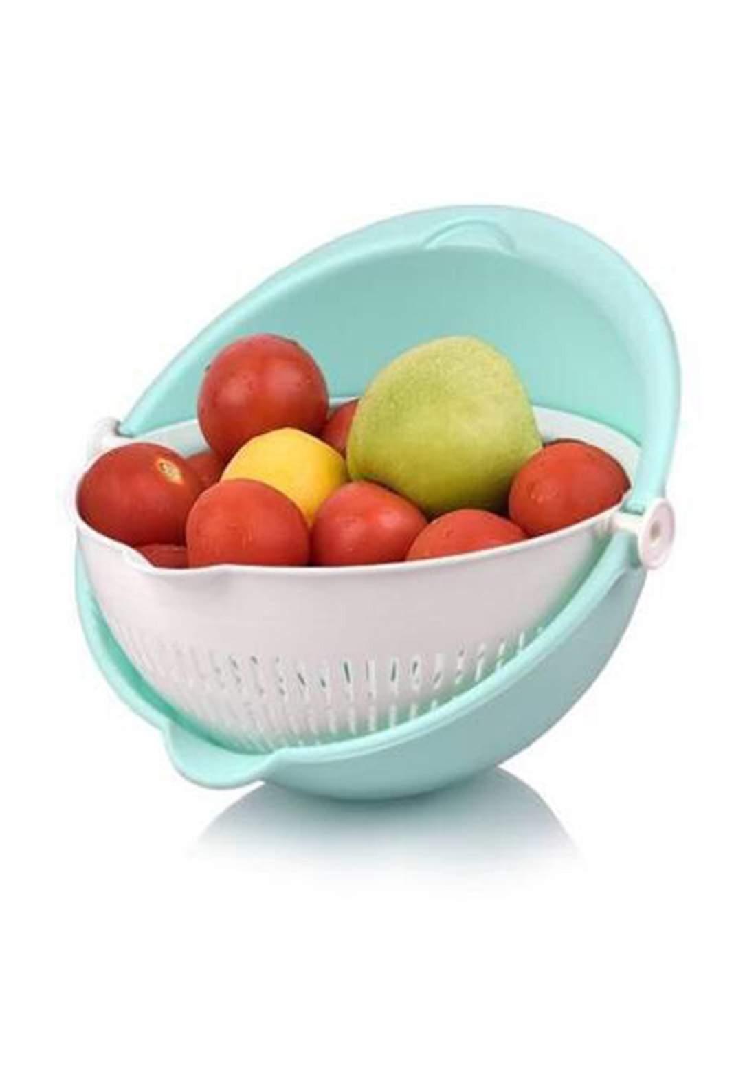 Hoppy Life Rotatry Round Vegetables Strainer مصفي متعدد الأستخدام