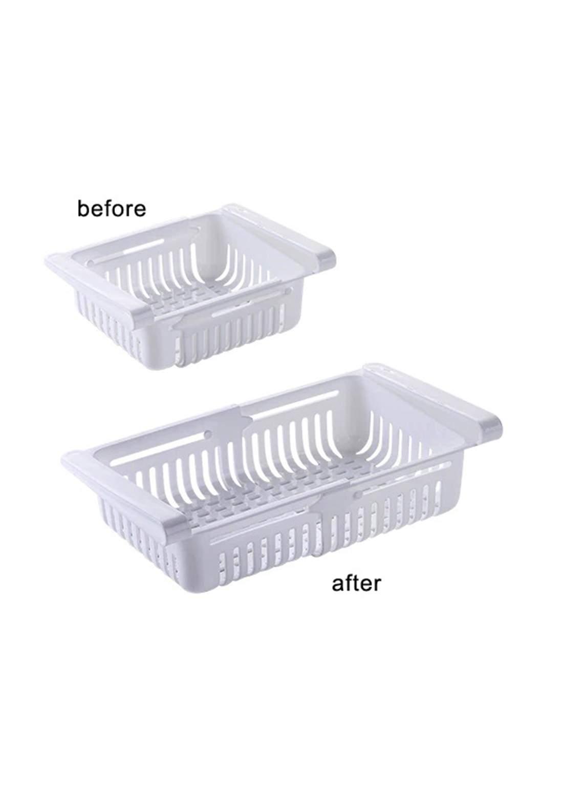 Adjustable Kitchen Organizer  مصفي ثالجة مجر سلايد 11-20