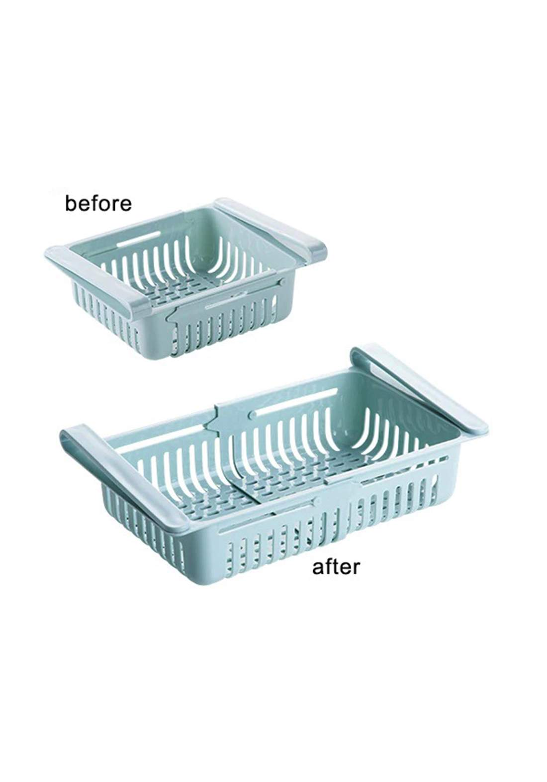 Adjustable Kitchen Organizer  مصفي ثالجة مجر سلايد 11-21