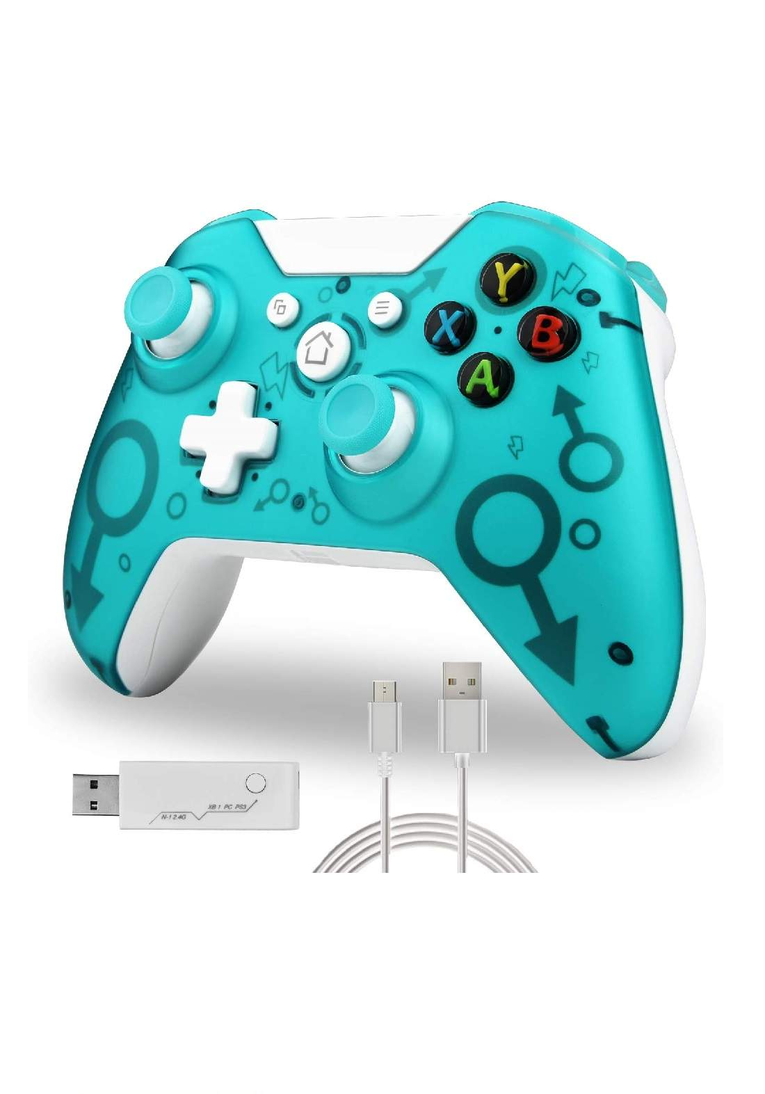 Xbox One - PC Wireless Controller - Green