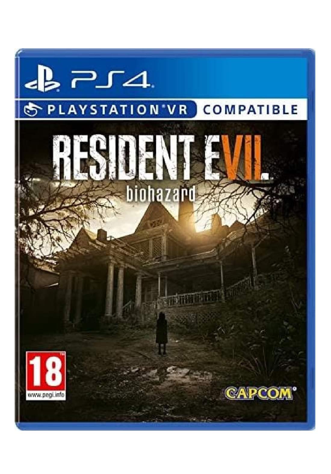 Resident Evil 7 Arabic PS4
