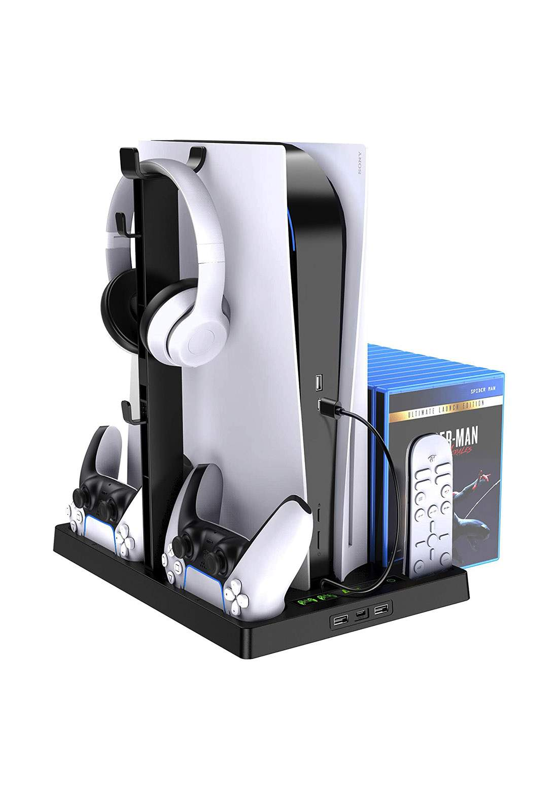 Dobe Multi-functional Cooling Stand and Charging for Playstation 5 ستاند مبرد