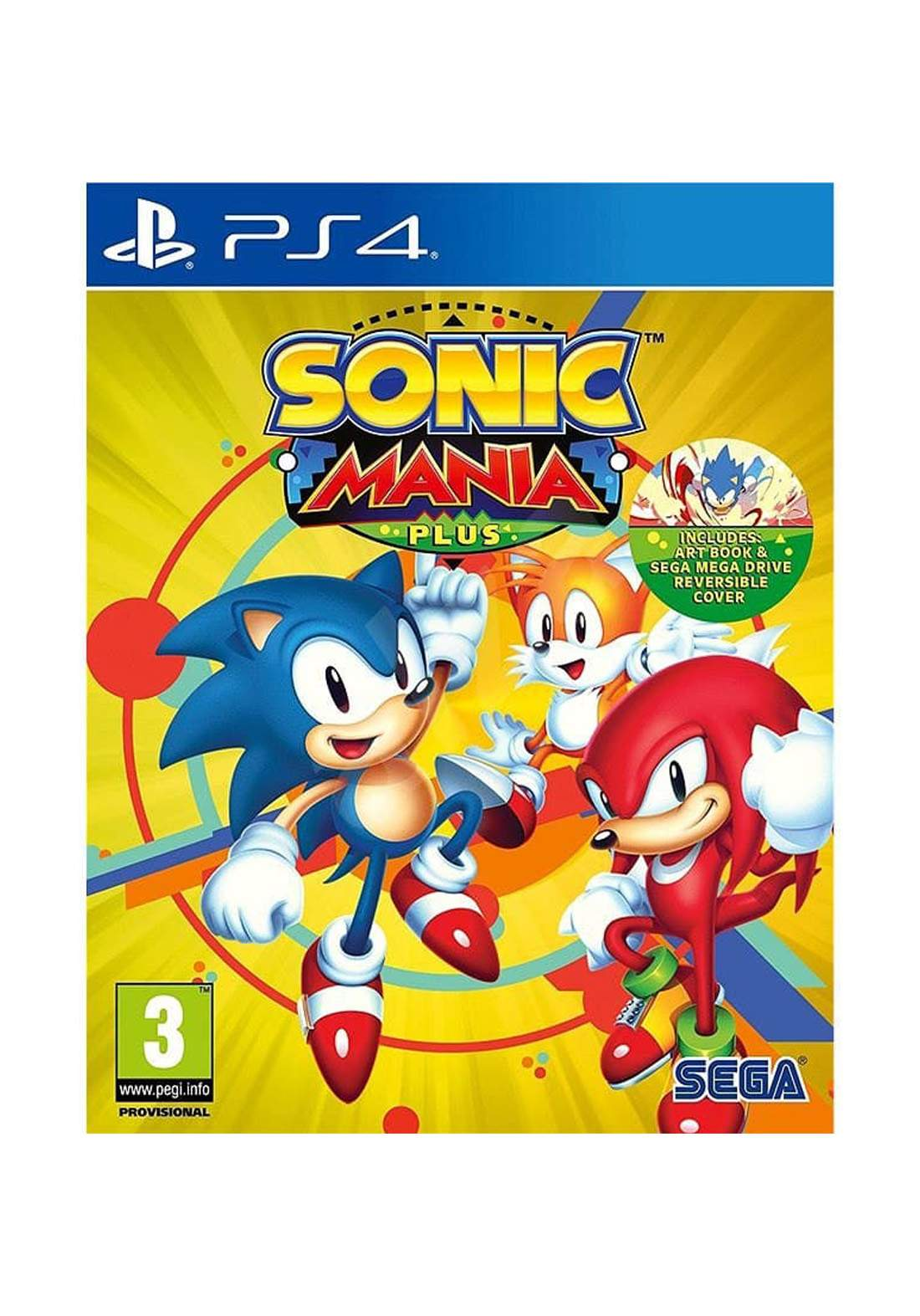 Sonic Mania Plus Video Game Playstation 4