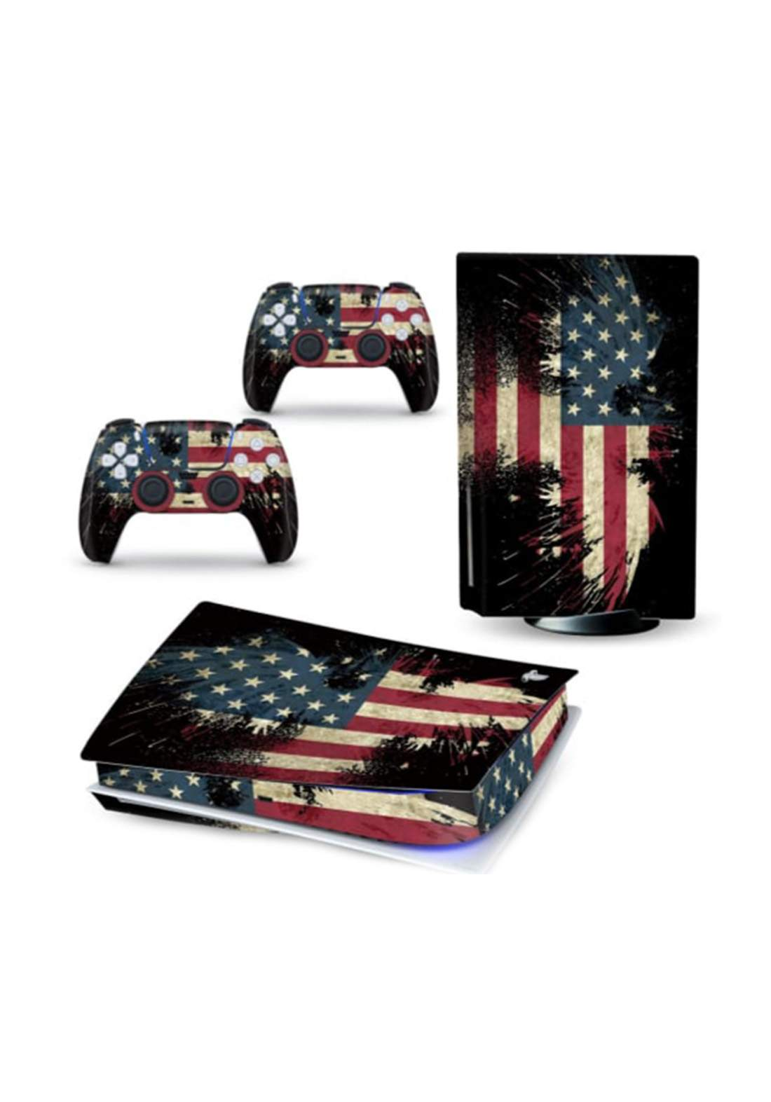 Sticker Skin Sticker Non-Slip For PS5 Console ستيكر