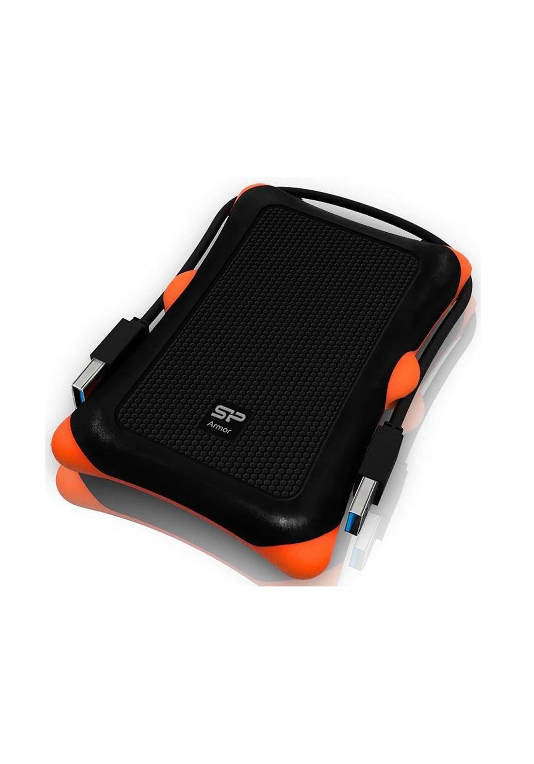 Silicon Power A30 Portable External Hard Drive 2 TB - Black هارد خارجي