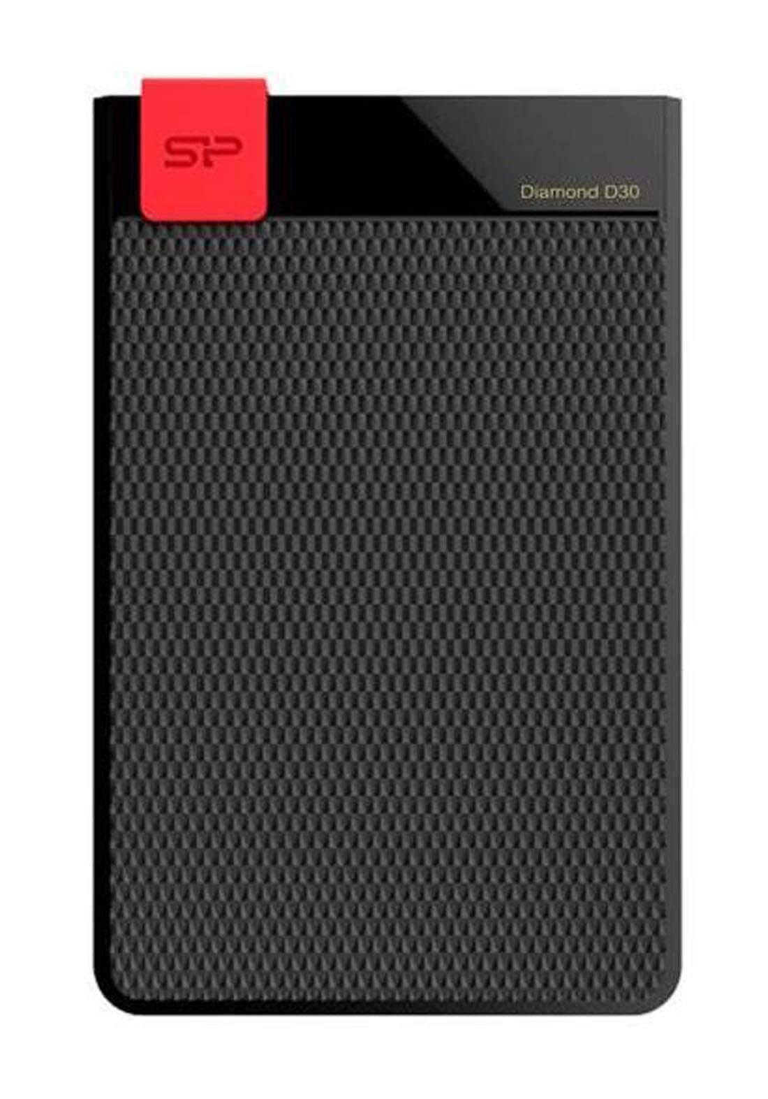 Silicon Power Diamond D30 1TB Portable Hard Drive - Black هارد خارجي