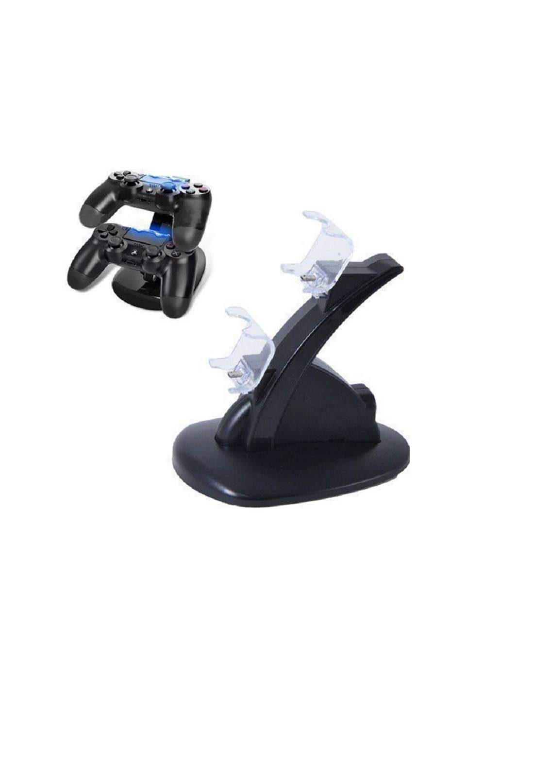 OIVO Dual USB Charging Charger Playstation 4 - Black ستاند شاحن لوحدات التحكم