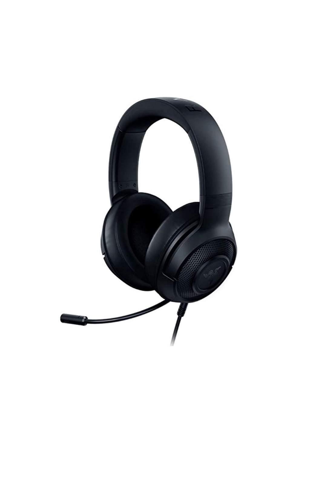 Razer Kraken X Lite Wired Gaming Headset - Black سماعة