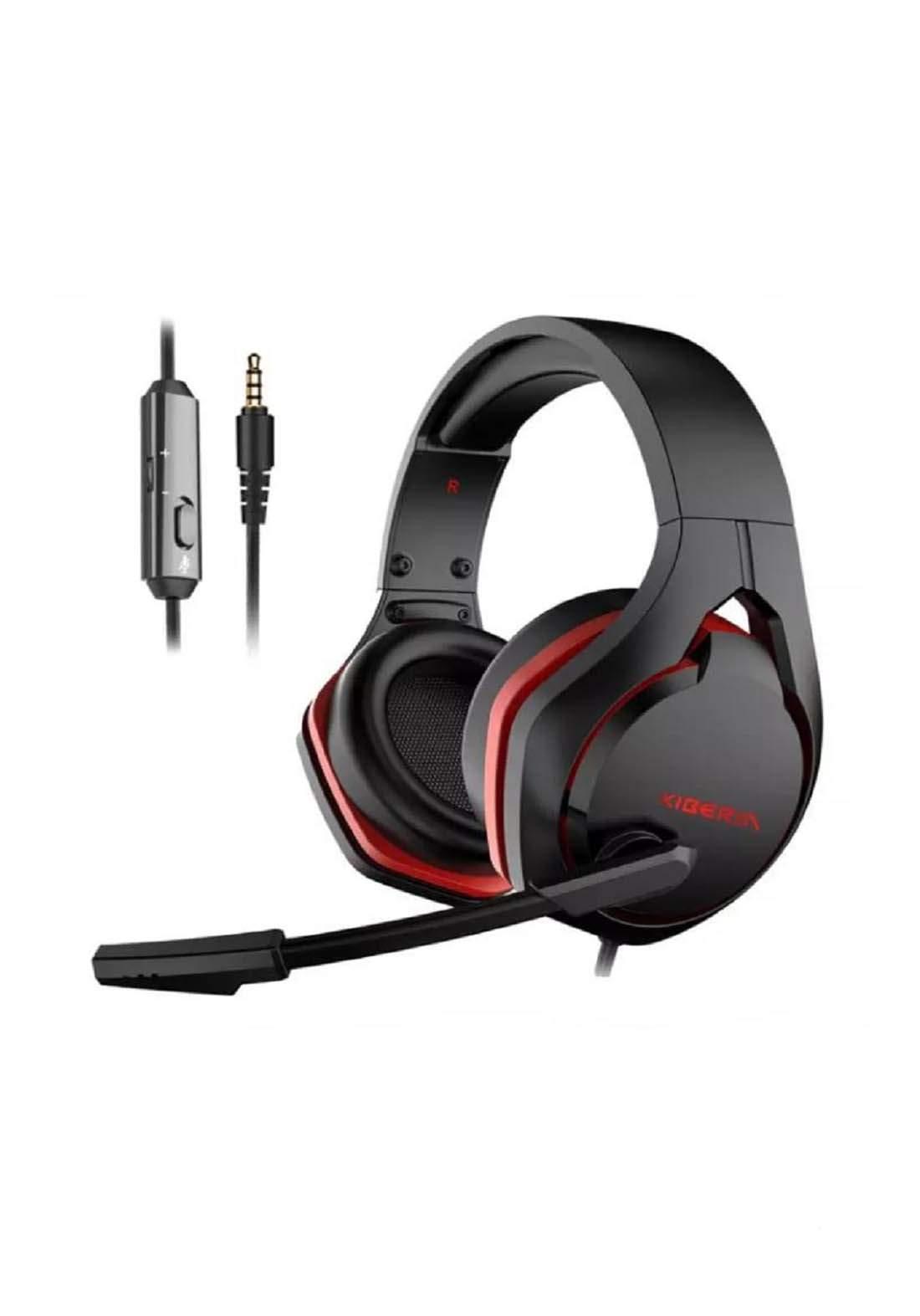 Xiberia V22 Gaming Headset for PC - Black سماعة