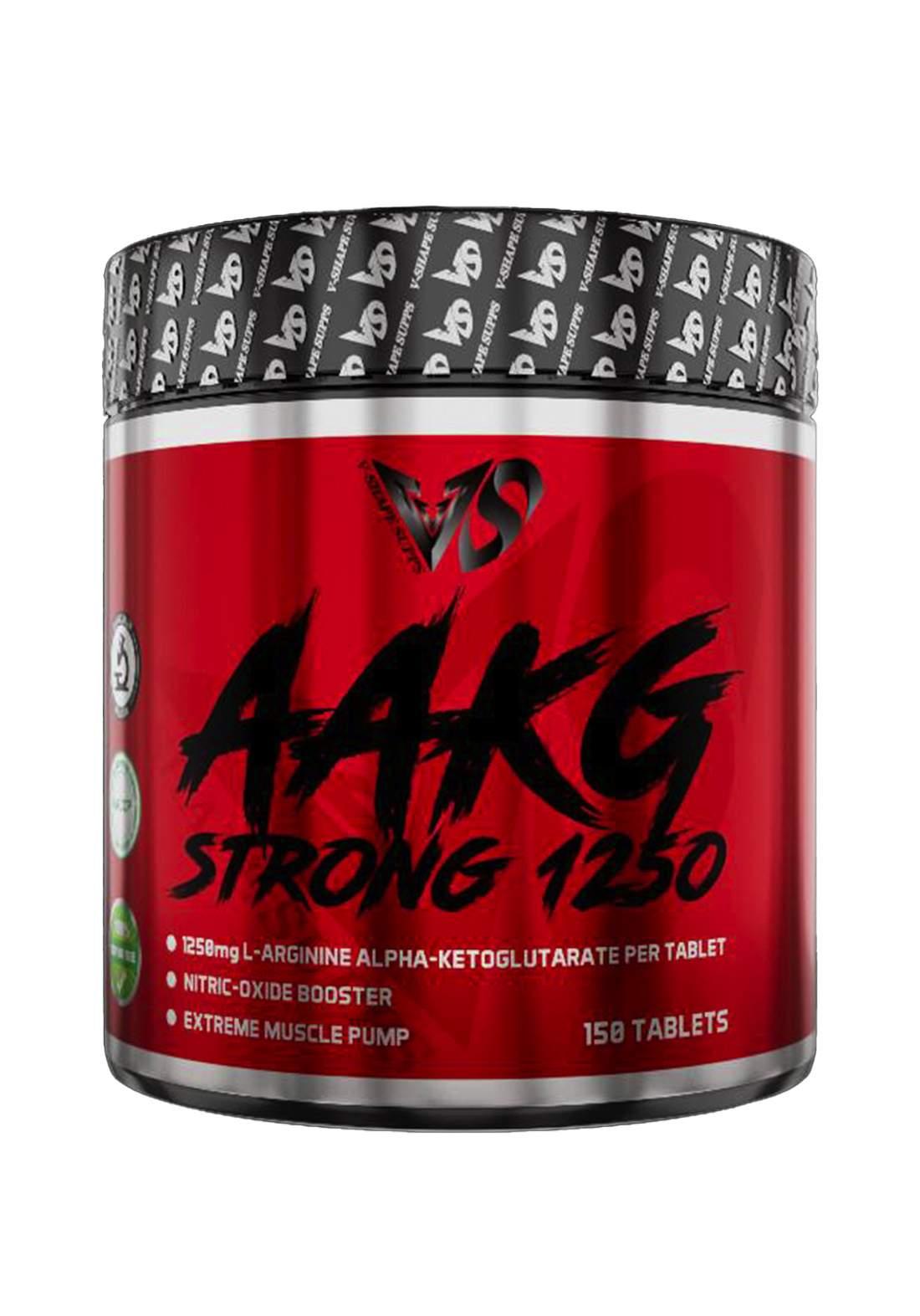 V-Shape Supplement Aakg Strong 1250 مكمل غذائي