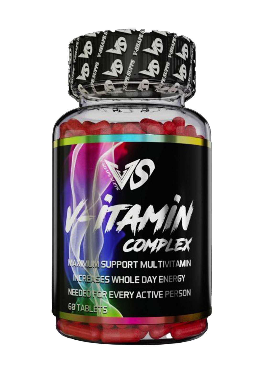 V-Shape Supplement V-Itamin Complex مركب الفيتامينات