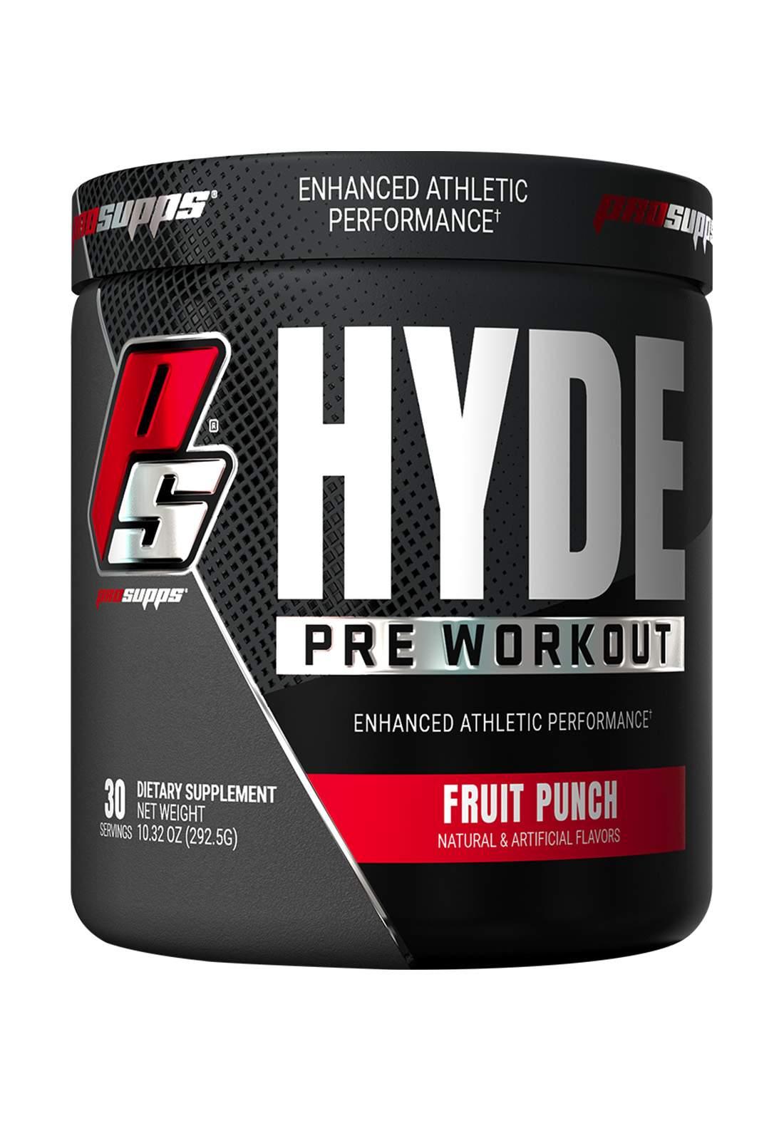 Prosupps Hyde Pre Workout 292.5gm مسحوق مشروب الطاقة