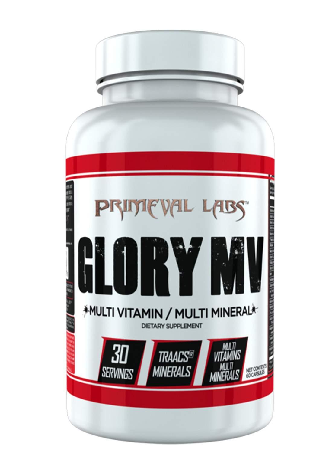 Primeval Labs Glory Mv Multi Vitamin Mineral - 30 Servings مكمل غذائي