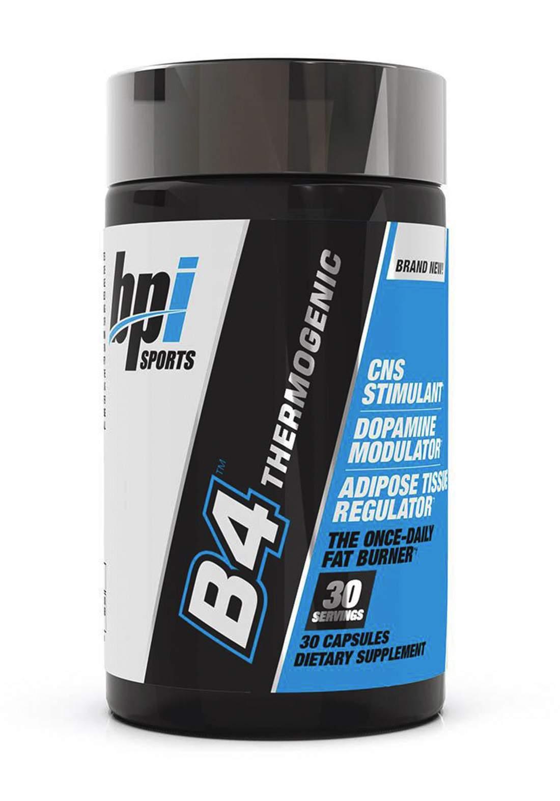 Bpi Sports B4 Thermogenic 30capsules حارق الدهون