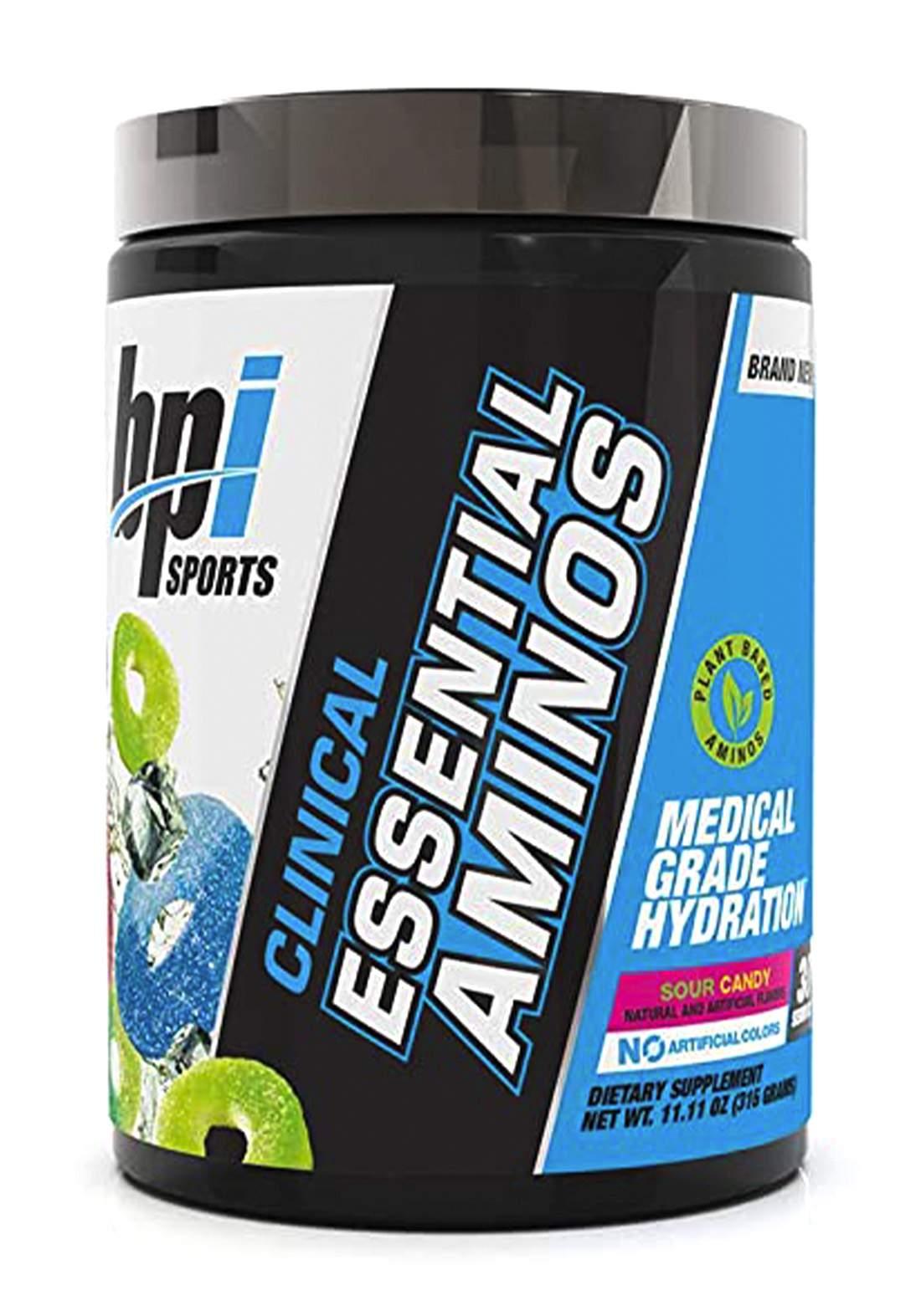 Bpi Sports Clinical Essential Aminos 315gm مكمل غذائي