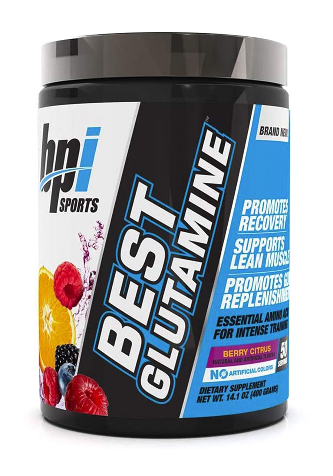 Bpi Sports Best Glutamine 400gm مكمل غذائي
