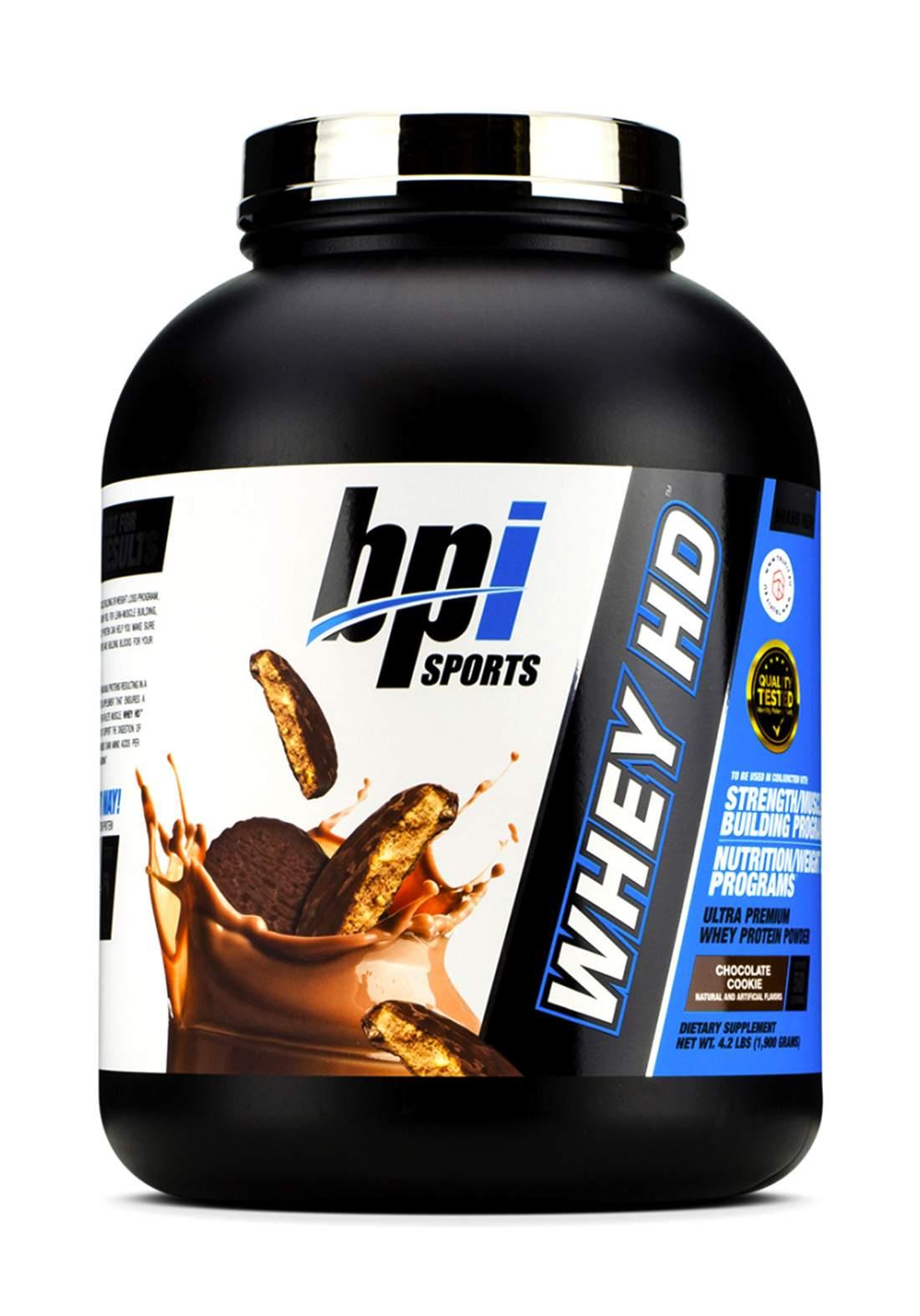Bpi Sports Whey-Hd Ultra Premium Protein Chocolate1900gm بروتين بالشوكولاتة