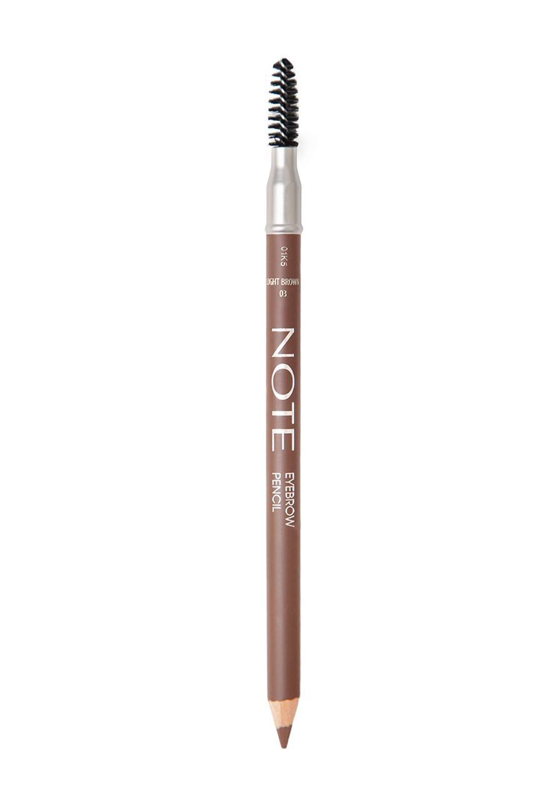 Note Eyebrow Pencil No.03 Light Brown قلم تحديد الحاجب مع فرشاة