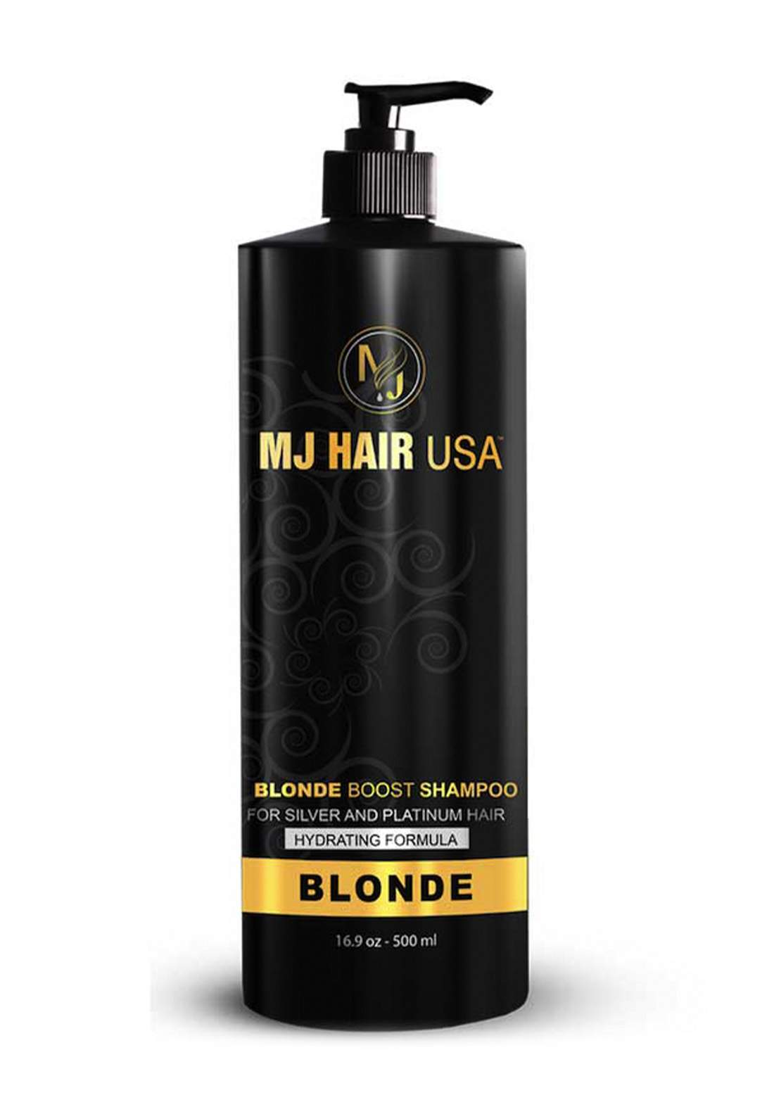 Mj Hair Usa Blonde Boost Shampoo 500ml  شامبو للشعر