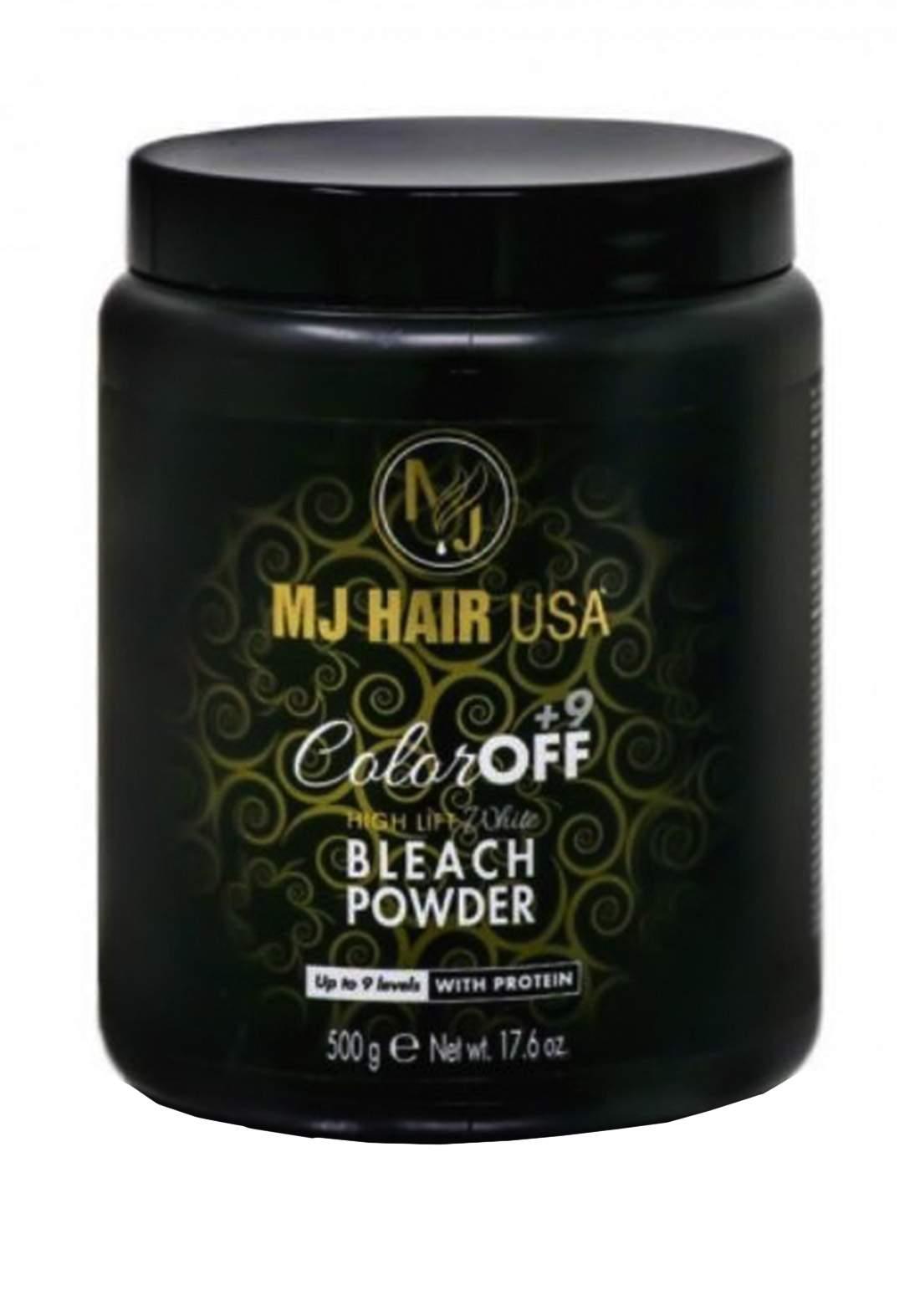 MJ Hair Bleach Powder 500g بلوندر ازرق بودرة