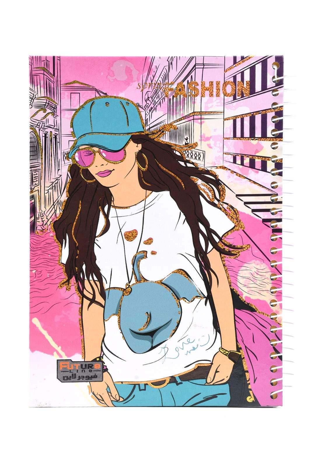 دفتر 100 ورقة سيم برسمة Fashion KH-300
